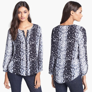 Joie Tops - Joie 'Purine' Print Silk Blouse